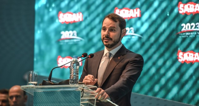 Treasury and Finance Minister Berat Albayrak